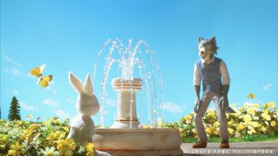 TVアニメ「BEASTARS ビースターズ」OPコマ撮りアニメ 美術セットスタイリング(花畑シーンのみ)
